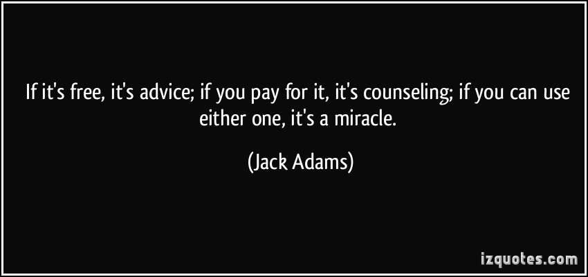Advise quote