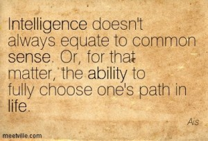 Common Sense Quote