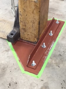 Lift foot plate
